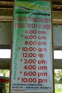 roro-bus-to-el-nido-schedule